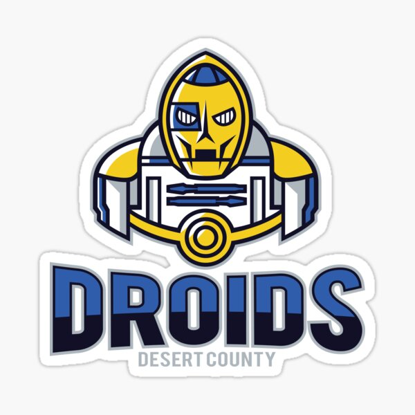 Desert County Droids Sticker