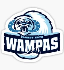 Planet Hoth Wampas Sticker