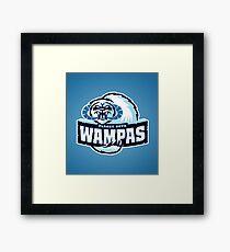 Planet Hoth Wampas Framed Print