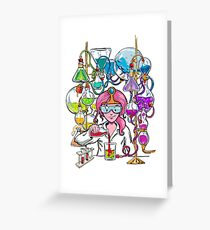 Science With Princess Bubblegum Greeting Card
