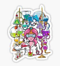 Science With Princess Bubblegum Sticker