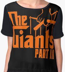 The GIANTS Women's Chiffon Top