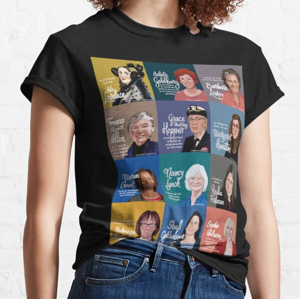 On the shoulders of giants Classic T-Shirt