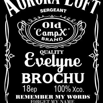 Aurora Luft - Xcompany -Jack Daniel's style by Ebrostore
