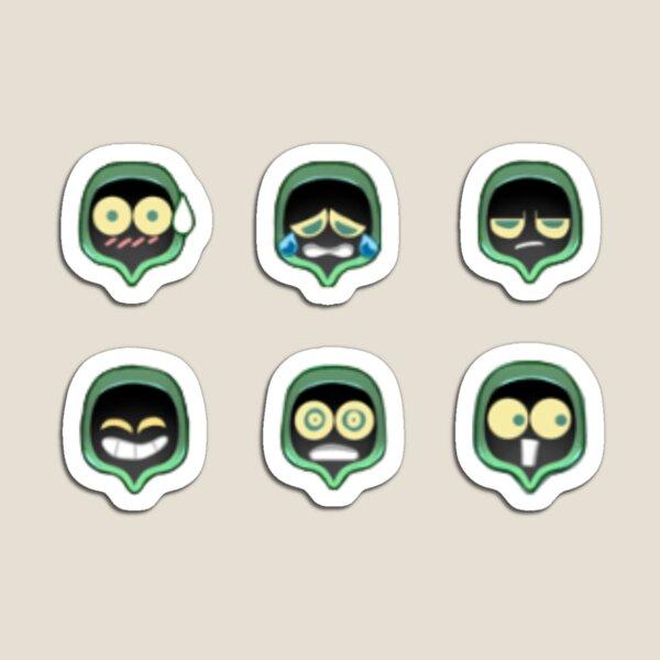 Shade Emoticons  Magnet