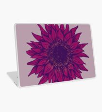 Purple flower Laptop Skin