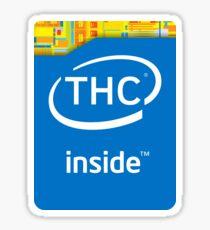 Intel THC Sticker