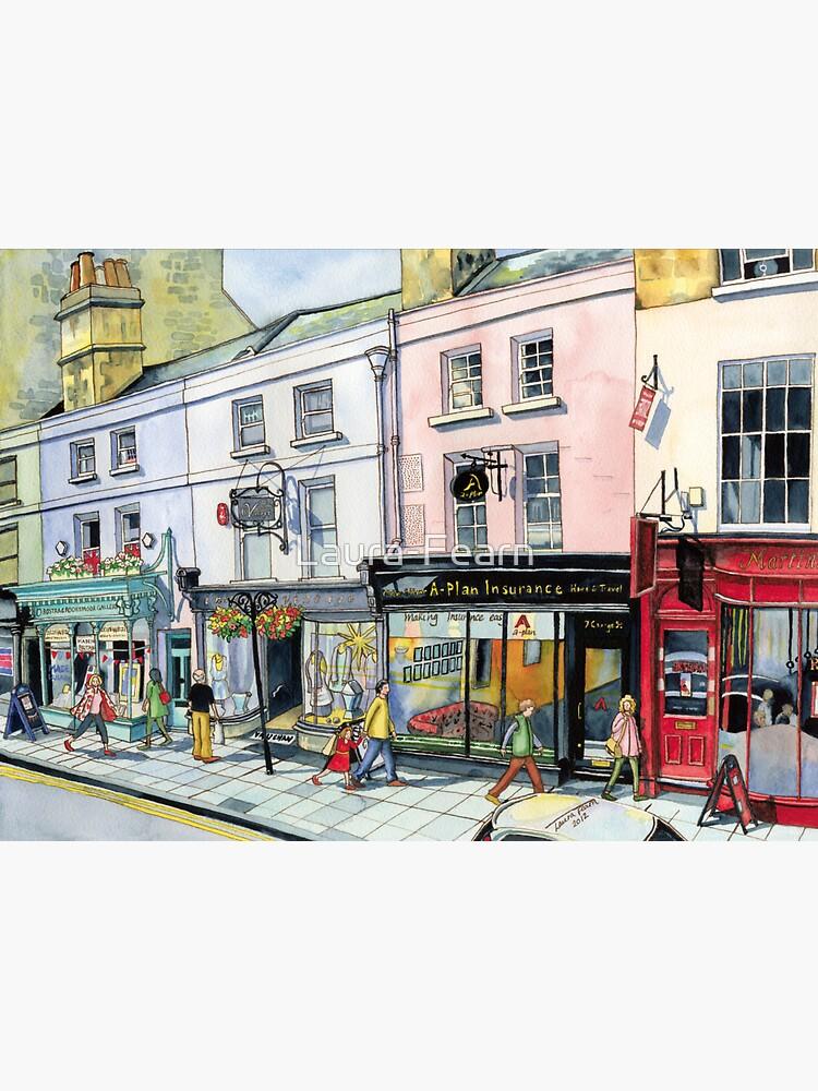 George Street in Bath, UK by Laura-Fearn