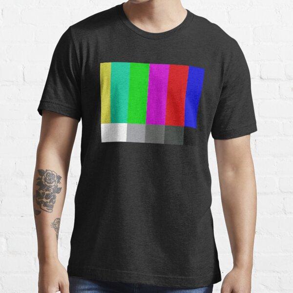 SMPTE Standard Definition Television Color Bars Essential T-Shirt