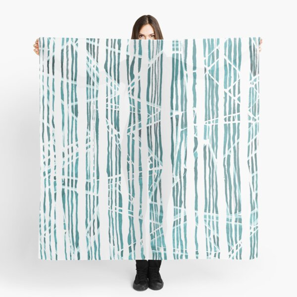 Abstract bamboo forest Scarf