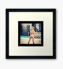 TLOP Kanye West Sheniz Framed Print