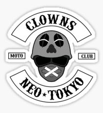 The Clown Motorcycle Club - Neo Tokyo (Akira) Sticker