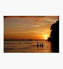 Boracay Sunset Photographic Print