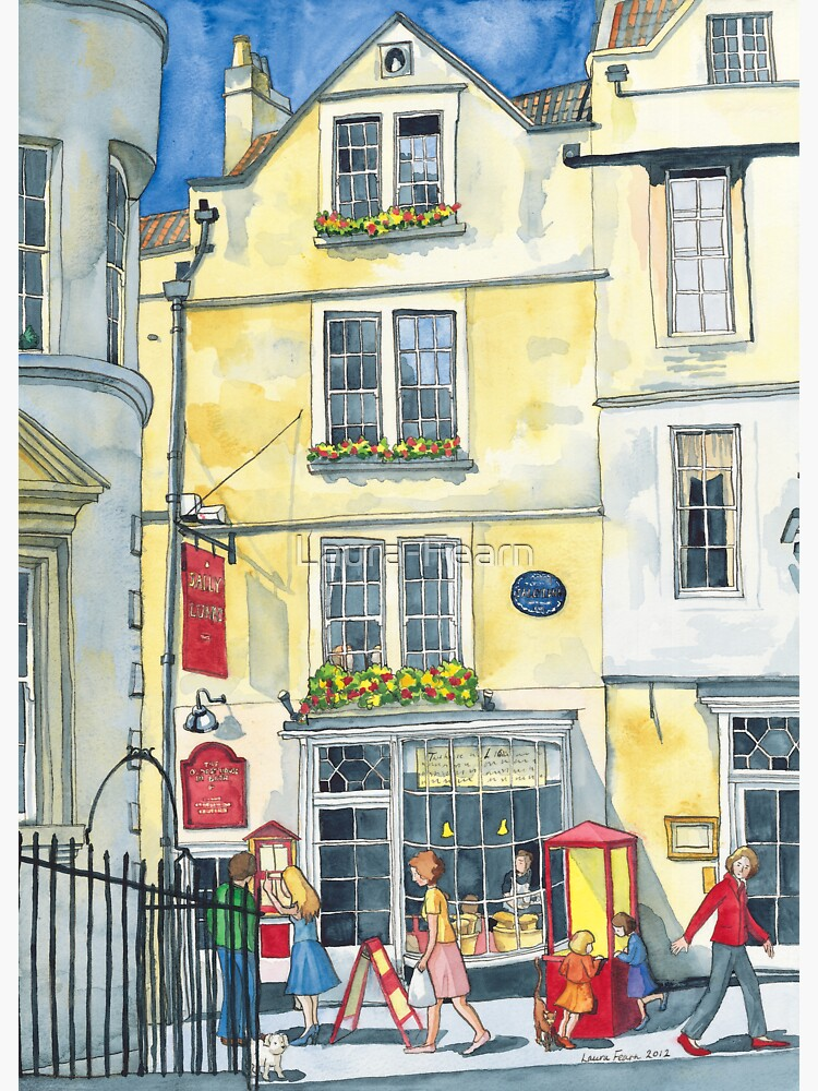Sally Lunn's House, the oldest house in Bath. by Laura-Fearn
