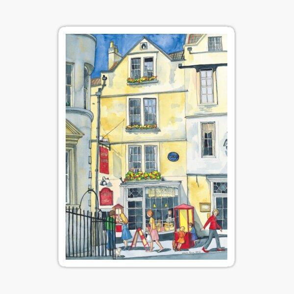 Sally Lunn's House, the oldest house in Bath. Sticker