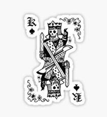 Killjoys.co King Of Kills Black Label Sticker