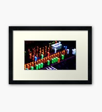 Music Console Framed Print