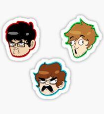 Team Lads Stickers Sticker