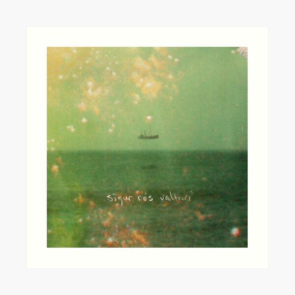 Sigur Ros - Arte de la portada del álbum Valtari Lámina artística