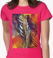 Grass Harp 002 Womens Fitted T-Shirt