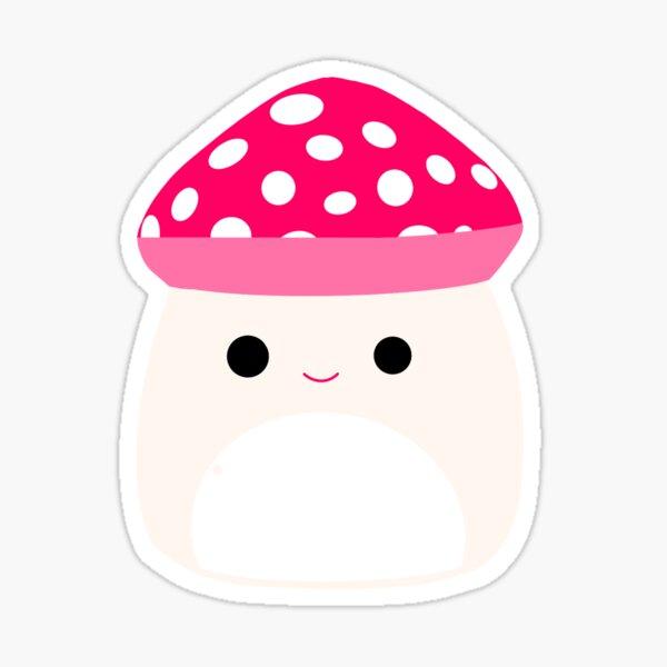 Squishmallow Mushroom Malcolm Sticker