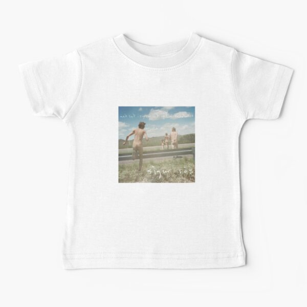 Sigur Ros - Með suð í eyrum við spilum endalaust Album Cover Art Camiseta para bebés