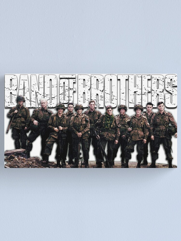 Alternate view of Band of Brothers Canvas Print