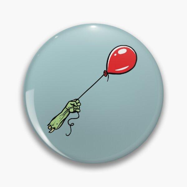 Sad Zombie with Balloon Pin