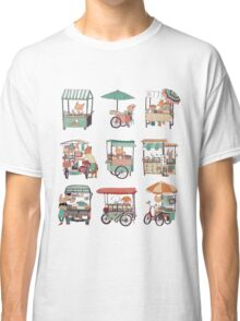 Food vans of Thailand Classic T-Shirt