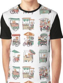 Food vans of Thailand Graphic T-Shirt
