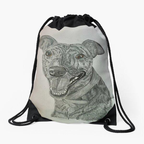 Happy Skadi  Drawstring Bag