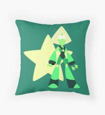 Peridot (Dark Green) Throw Pillow