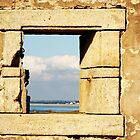 Ruin With A Sea View by Alexandra Lavizzari
