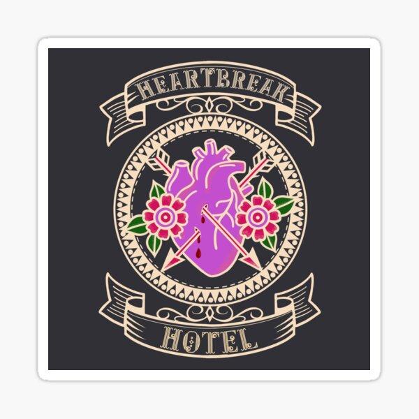 Hearts Club - Heartbreak Hotel Sticker