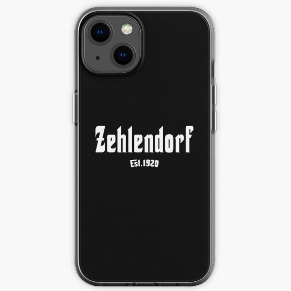 Kultiges Berlin T-shirt Zehlendorf Berliner Shirt iPhone Flexible Hülle