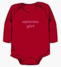 Uptown Girl T-Shirt One Piece - Long Sleeve