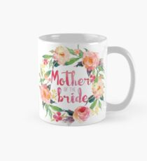 Mother Of The Bride Watercolor Roses Mug