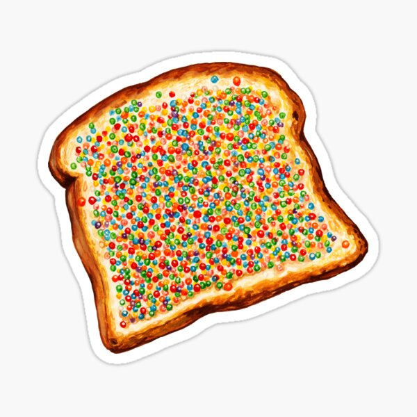 Fairy Bread Pattern Sticker