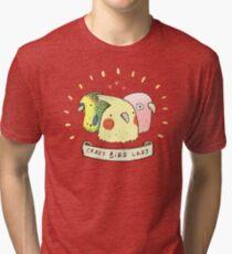 Crazy Bird Lady Tri-blend T-Shirt