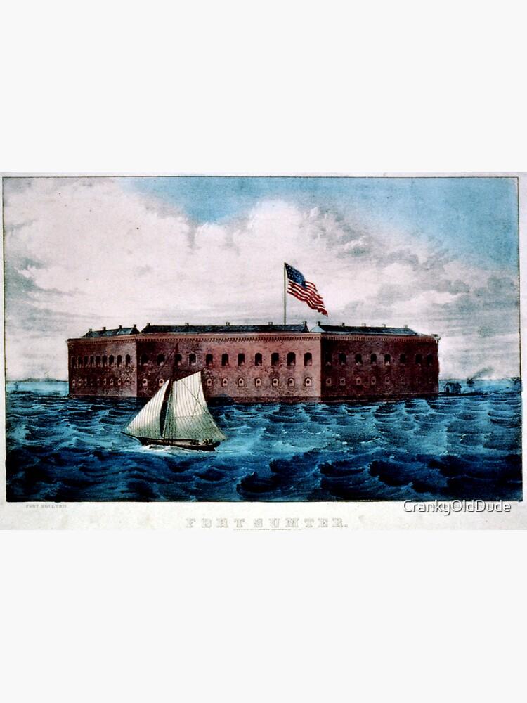 Fort Sumter - Charleston Harbor, S.C. - 1870 by CrankyOldDude