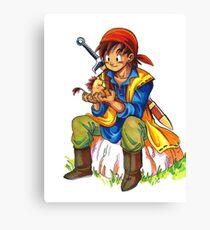 Dragon Quest 8 Canvas Print