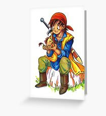 Dragon Quest 8 Greeting Card