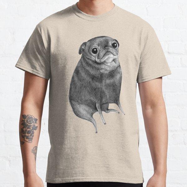 Süßer schwarzer Mops Classic T-Shirt