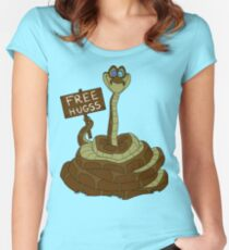 Free Hugss Women's Fitted Scoop T-Shirt