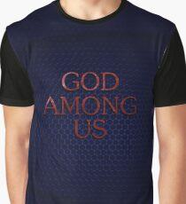 GOD AMONG US Graphic T-Shirt