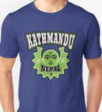 Kathmandu Nepal Sun and Moon Symbols Unisex T-Shirt
