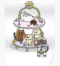 Neko Atsume Party! Poster
