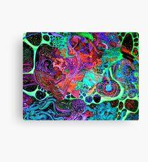 PSYCHEDELIC Color Canvas Print