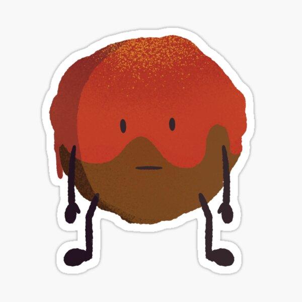 Mellow Meatball Sticker