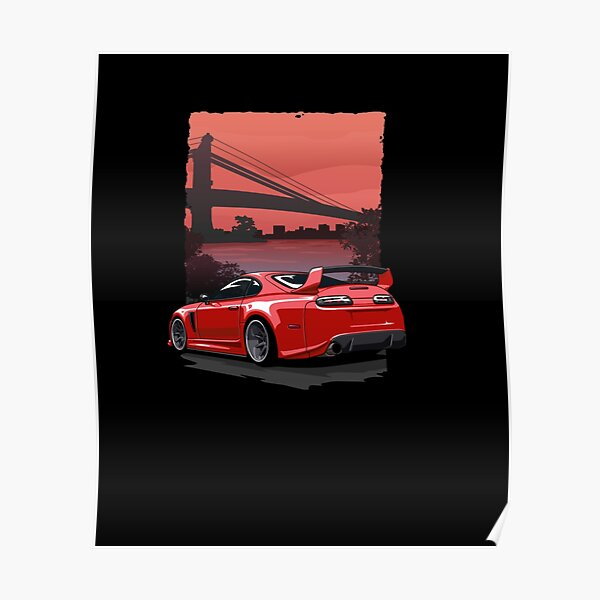 Car Guy Supr Pullover Hoodie Poster
